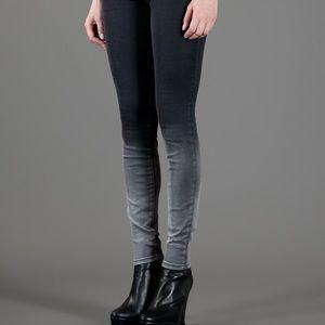 Current/Elliot ombré skinny jeans